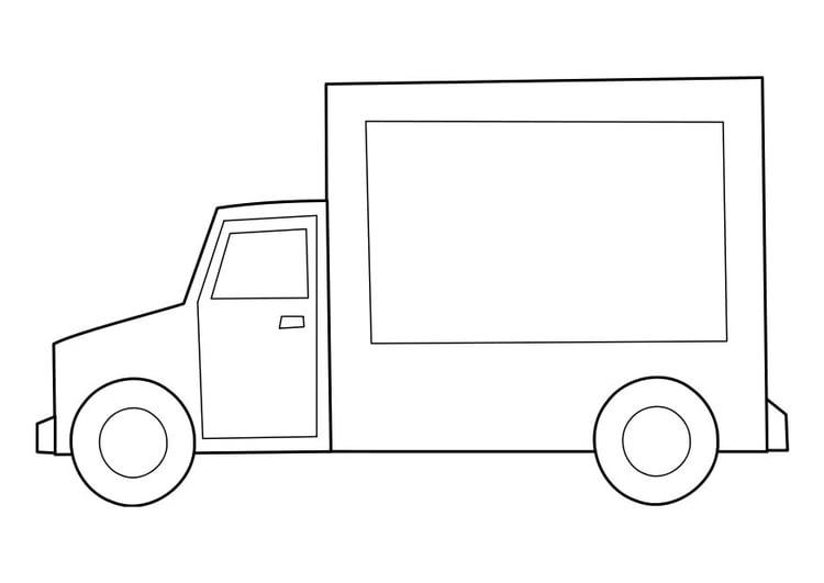 Disegno Da Colorare Camion Cat 22847