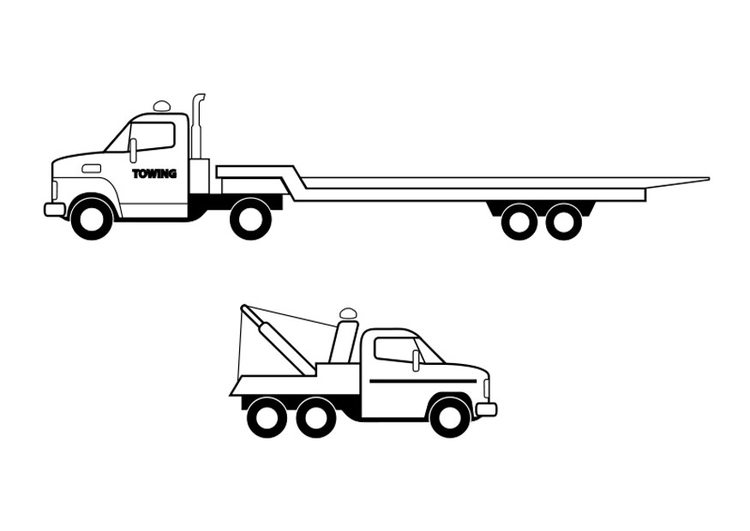 Disegno Da Colorare Camion Cat 26293