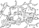 Disegno da colorare camion