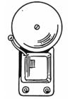 Disegno da colorare campanella