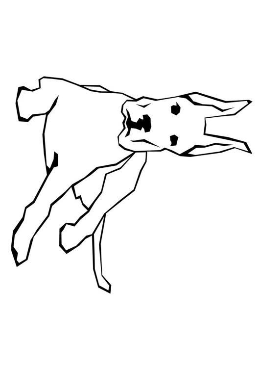 Disegno da colorare cane cat 10005 - Cane da colorare le pagine libero ...