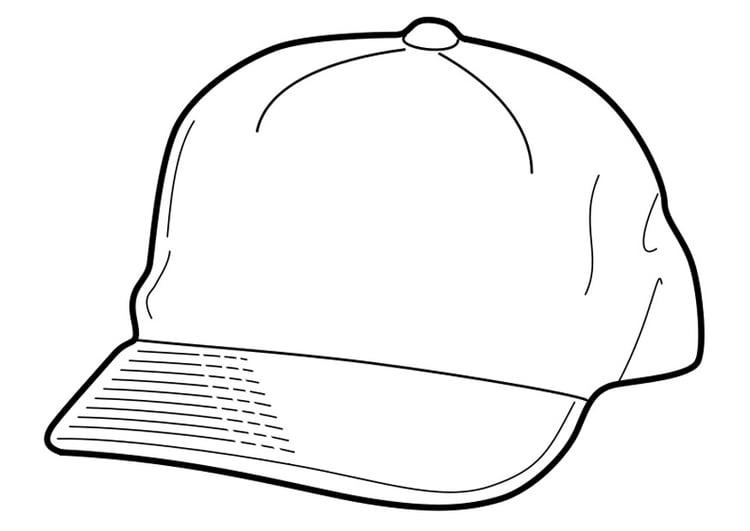 Disegno da colorare cappello cat 18956 for Cappello disegno da colorare