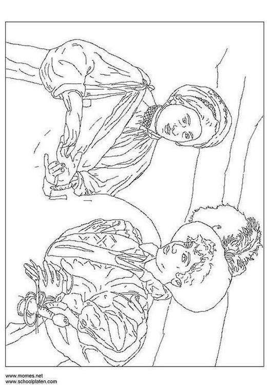 Caravaggio Disegni Da Colorare Images