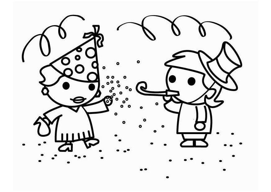 Disegno Da Colorare Carnevale Cat 26456