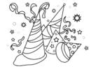 Disegno da colorare carnevale