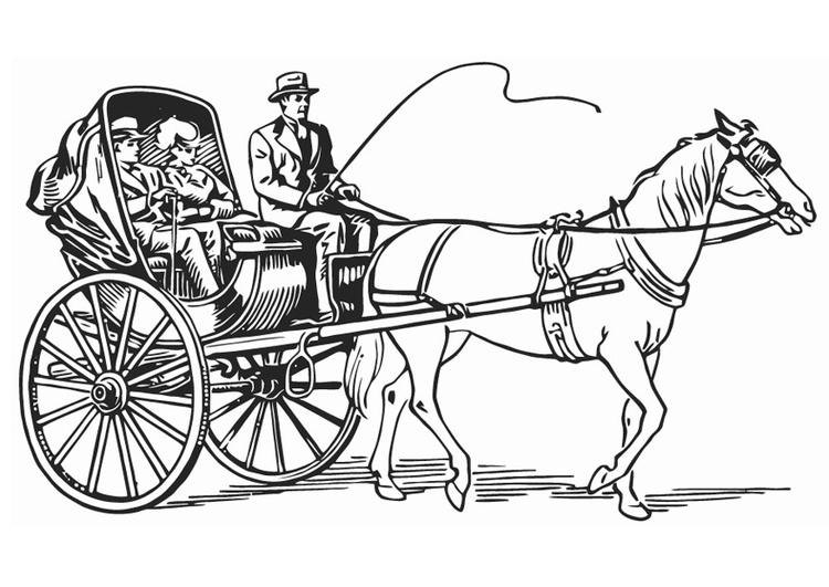 Disegni Da Colorare Cavalli Con Carrozza.12 Disegni Da Colorare Carrozze 2020 Disegni Da Colorare E Stampare Gratis
