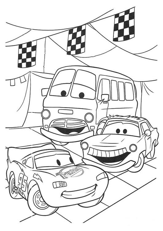 Disegno da colorare cars cat 20749 for Disegno di cars 2 da colorare