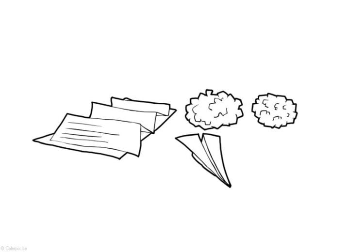 Disegno Da Colorare Carta E Cartone Cat 14409 Images