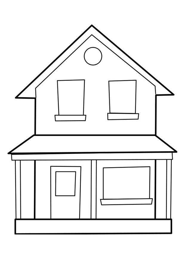Disegno da colorare casa cat 22849 - Imagenes de casas para dibujar ...