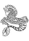 Disegno da colorare cavalluccio marino