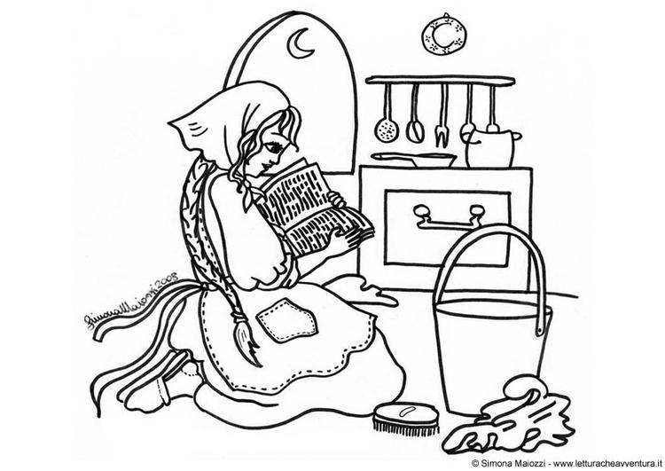 Disegno Da Colorare Cenerentola Cat 12408 Images