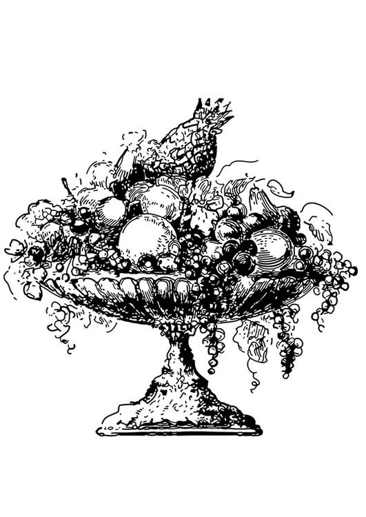 Disegno da colorare cesto della frutta cat 27328 images for Disegni da colorare ciliegie