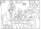 Disegno da colorare Cèzanne