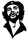 Disegno da colorare Che Guevara