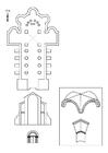 Disegno da colorare chiesa Romana