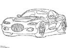 Disegno da colorare Chrysler 300