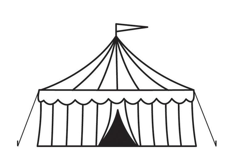 Disegno Da Colorare Circo Cat 23160