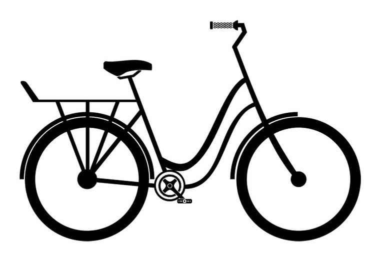 Disegno Da Colorare Citybike Cat 27508 Images