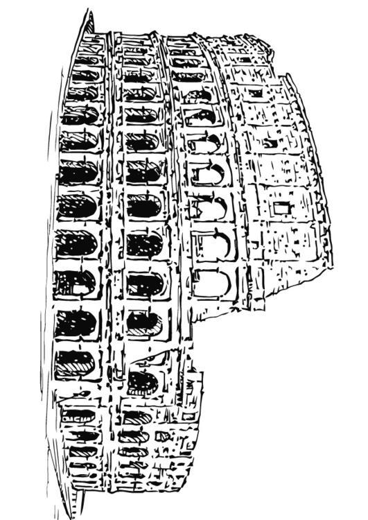 Disegno da colorare colosseo cat 13265 for Colosseo da colorare
