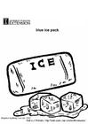 Disegno da colorare componente freezer