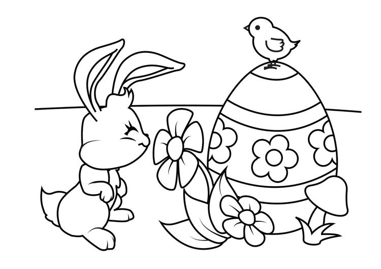 38 Disegni Da Colorare Coniglio Pasquale Disegni Da Colorare E Stampare Gratis