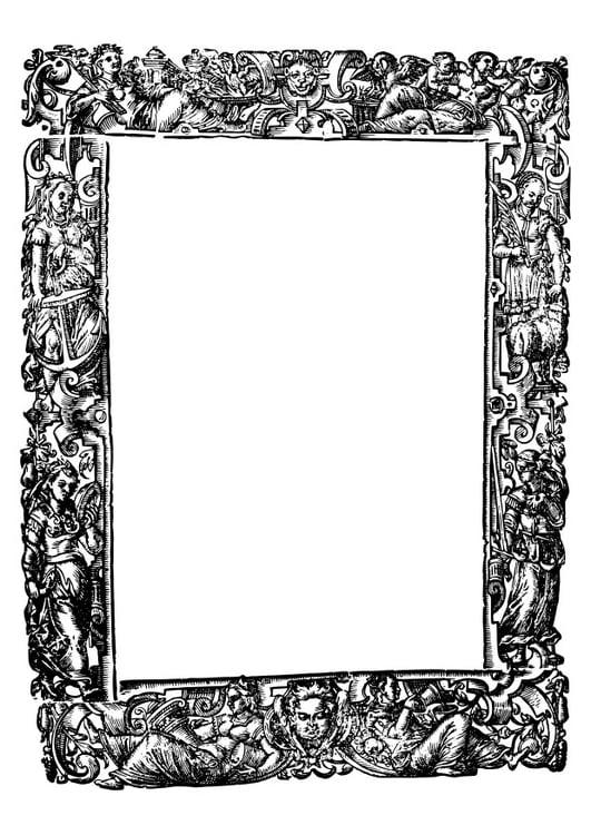 Kleurplaat Middeleeuwen Disegno Da Colorare Cornice Medievale Cat 27415