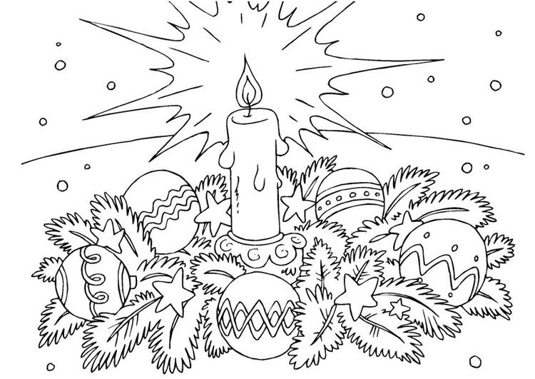 Inspirational Disegni Della Corona Davvento Da Colorare Migliori