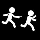 Disegno da colorare correre