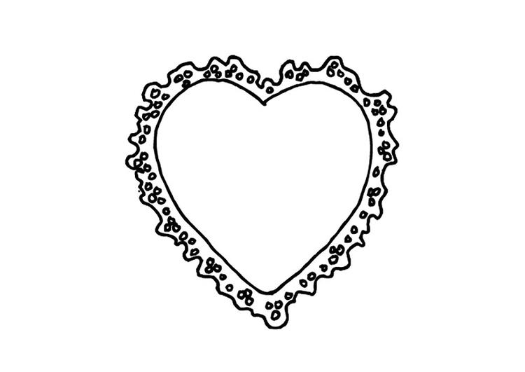 Disegno Da Colorare Cuore Di San Valentino Disegni Da Colorare E
