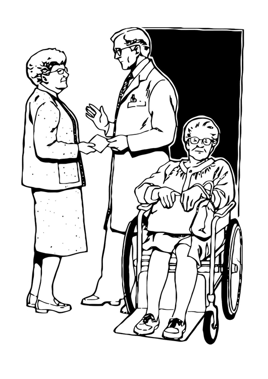 Disegno Da Colorare Dimissione Dall Ospedale Cat 11875