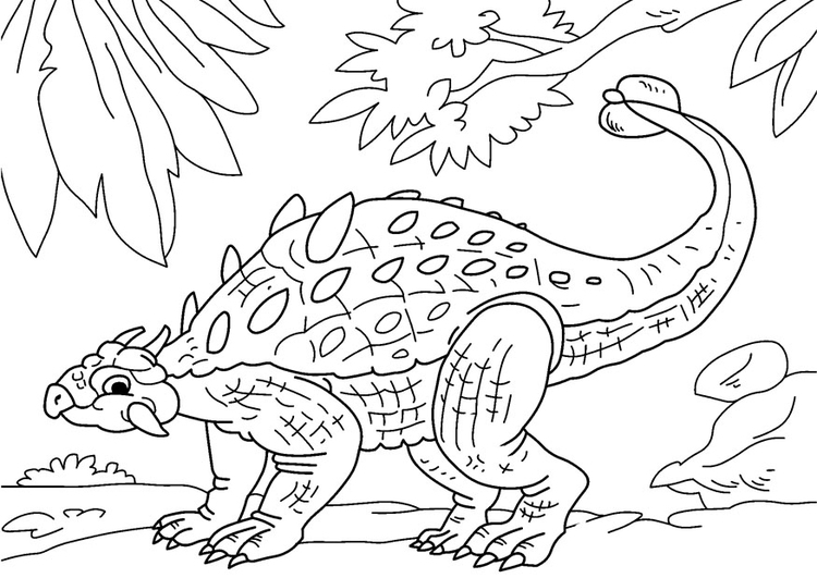 Disegno Da Colorare Dinosauro Ankylosaurus Disegni Da Colorare E Stampare Gratis Imm 27734