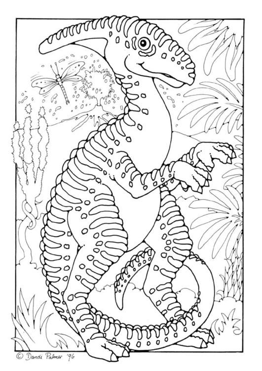 Disegno da colorare dinosauro cat 9207 - Immagini di dinosauro da colorare in ...