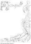 Disegno da colorare disegno farfalle