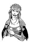 Disegno da colorare donne berbera