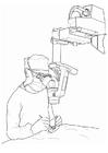 Disegno da colorare dottore - operazione