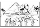 Disegno da colorare Egitto