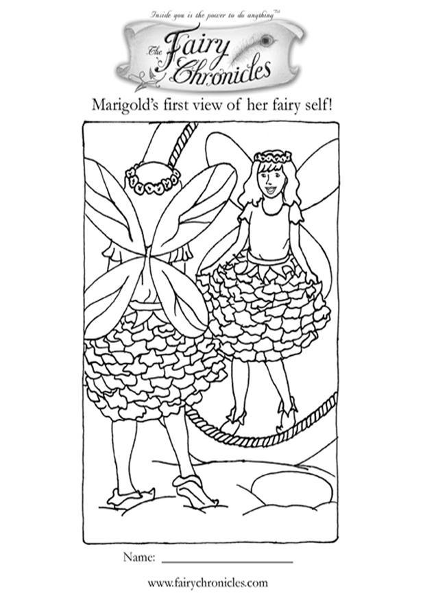 Disegno da colorare elfo davanti allo specchio cat 10704 - Elfo immagini da stampare gratuitamente ...
