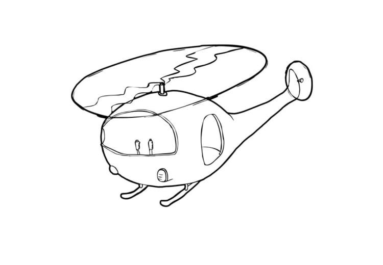Disegno Da Colorare Elicottero Cat 13732 Images