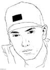 Disegno da colorare Eminem
