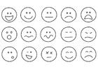 Disegno da colorare emozioni