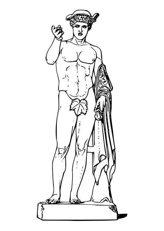 Disegno Da Colorare Ermes Cat 18631