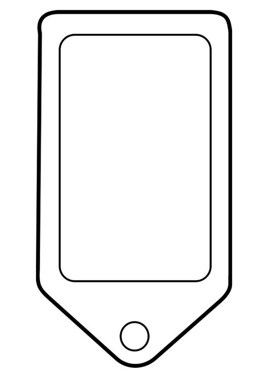 Kleurplaat Mobiele Telefoon Disegno Da Colorare Etichetta Cat 22469
