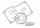 Disegno da colorare euro