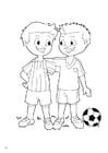 Disegno da colorare fair play