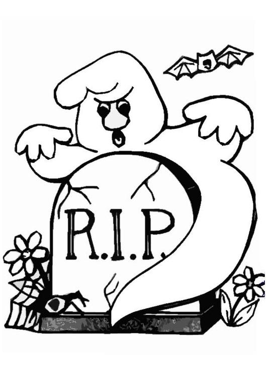 Disegno da colorare fantasma cat 8619 for Fantasmi disegni da colorare