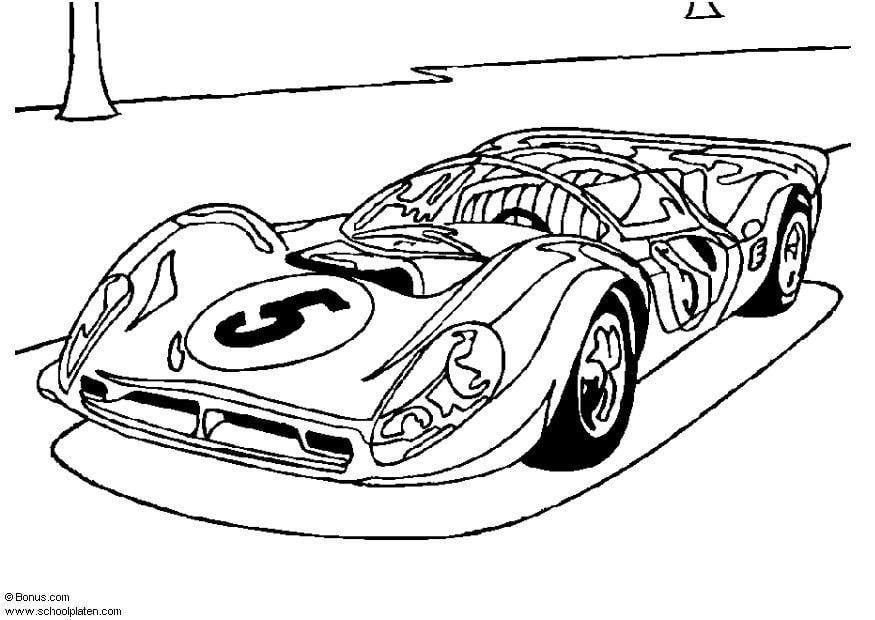 Disegno da colorare Ferrari P4