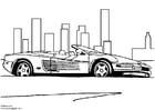 Disegno da colorare Ferrari Testarossa