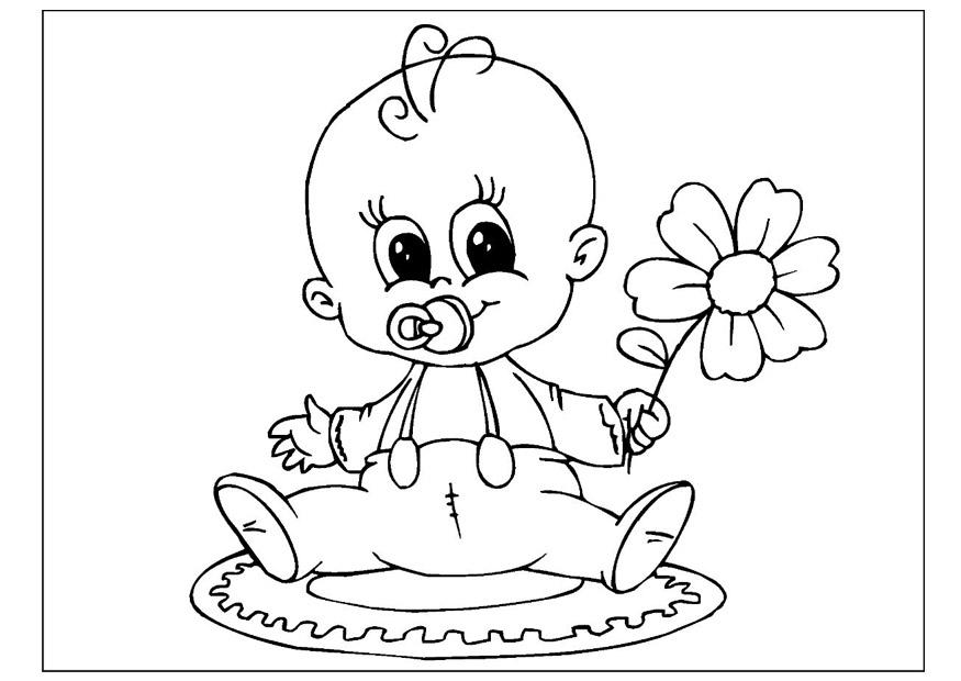 Kleurplaat Geboorte Jongen Disegno Da Colorare Festa Della Mamma Cat 25802 Images