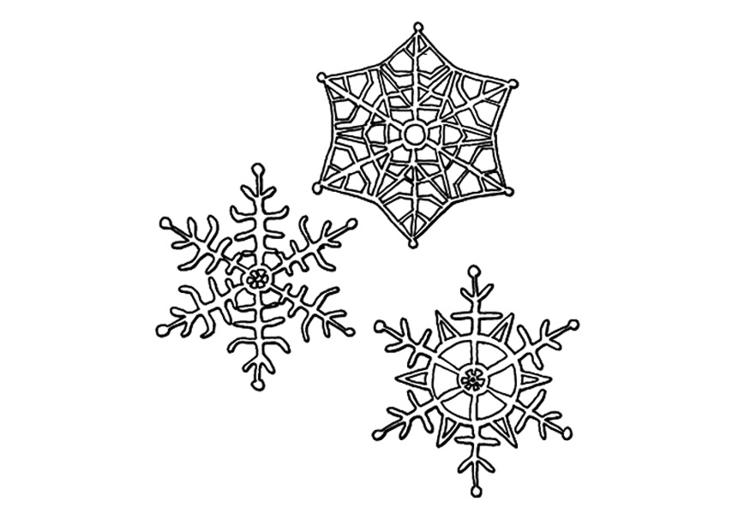 Disegno Da Colorare Fiocchi Di Neve Cat 9491