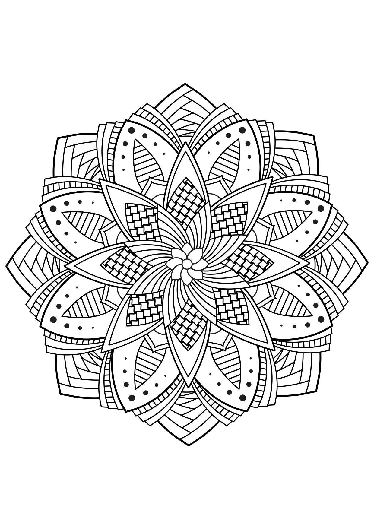 Disegno Da Colorare Fiore Di Mandala Disegni Da Colorare E Stampare Gratis Imm 30840